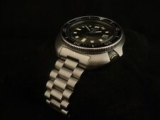 Men's Solid End-Link PRESIDENT Bracelet for the SEIKO 6105 Diver Watch Strap