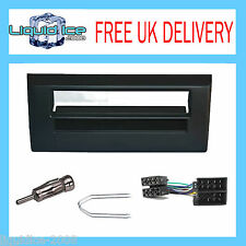 FP-01-05 AUTLAEDS FIAT STILO 2001 ONWARDS BLACK SINGLE DIN FASCIA FITTING KIT