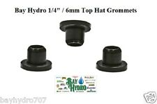 "10 pack 1/4"" 6mm Top Hat Grommet/Seals Hydroponics Drip System Tubing $$ SAVE $$"
