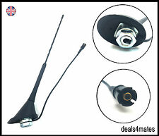 "16"" REPLACEMENT ROOF MOUNT CAR AERIAL ANTENNA MAST BASE VW SEAT SKODA RAKU NEW"