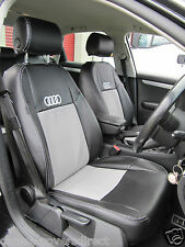 AUDI A4 B8 Black and Grey CAR SEAT COVERS