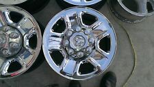 "13 14 2015 Dodge Ram 2500 3500 18"" chrome steels wheels rims 8x6.5"