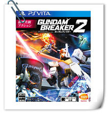 PSV GUNDAM BREAKER 2 高达破坏者2 中文版 SONY Playstation VITA Action Games Namco Bandai