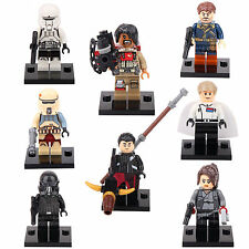 Rogue One Star Wars Chirrut Jyn Cassian Orson 8 Mini figures Building TOYS lEGO