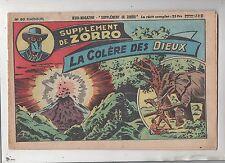 Collection Supplément de Zorro n°80. La colère des Dieux. Oulié. 1951