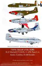 Dutch Decals 1/72 AIRCRAFT OF THE AURI INDONESIAN AIR FORCE 1950-1958