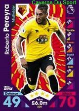 320 Roberto PEREYRA ARGENTINA WATFORD.FC CARDS PREMIER LEAGUE 2017  TOPPS