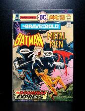 COMICS: DC: Brave and the Bold #121 (1975), Batman/Metal Men - RARE