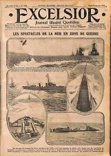 Seaplane Royal Navy Submarine Sous-Marins Battle Dardanelles Turkey WWI 1916