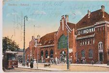 11779 AK Graudenz Westpreußen Bahnhof 1915 ZENSUR Stemp