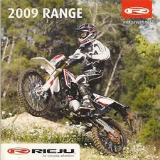 Rieju Motorcycles 2009 UK Market Multilingual Sales Brochure Off Road SM Sport