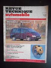 Revue technique automobile n°551 05/1993 Renault Espace depuis 1991