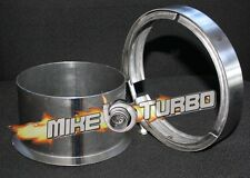 """5"""" Exhaust V-band Downpipe Kit Flange+ SS Clamp S400 S400SX4 S475,S480 T6"""