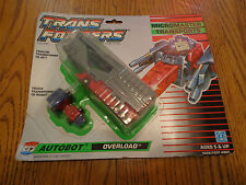 Overload Micromasters 1989 Original Vintage G1 Transformers Autobot New & Sealed