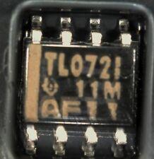 strip of 20 TL072ID TL072 dual FET Op-amp SO8  TL072 TLO72 tl0721