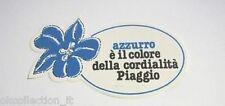 ADESIVO MOTO anni'80 /Old Sticker Autocollant Vintage PIAGGIO (cm 12x6) vespa 2