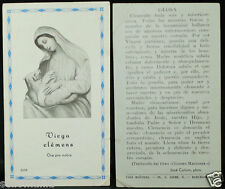 OLD BLESSED VIRGIN MARY AND SHEEP HOLY CARD ANDACHTSBILD SANTINI   SEE SHOP C826