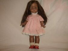 "RARE! VINTAGE 18"" AFRICAN AMERICAN EFFANBEE DOLL- original clothing & shoes-HTF"