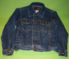 Youth JEEP brand SINCE 1941 jean jacket. Clothing on the Edge patch. Size 4. Exc