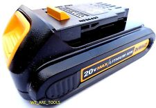 (1) New GENUINE Dewalt 20V DCB201 1.5 AH MAX XR Battery For Drill Saw 20 Volt