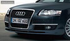 Audi A6 4F C6 04-08 Front Bumper spoiler S line lip Valance addon Votex abt s6