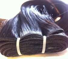 "16"" Weft/weaving Hair Extension Color black #1 Heat Styling Synthetic"