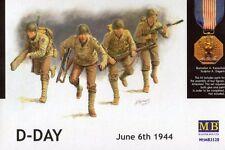 """Día D 06 de junio 1944-U.s. Infantry """"Gran rojo"""", Normandía 1/35 Masterbox"""
