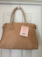 Jessica Simpson Tan Handbag with FREE Fancy Shower GEL