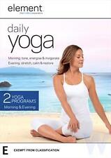 """Element: Daily Yoga DVD R4 New & Sealed """"sale"""""""