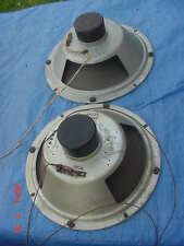"Vintage 12 inch Audio Speakers 12"" Speaker PAIR Organ Console Automotive Radio"