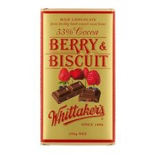 Whittakers Berry and Bicuit Chocolate Block 250g