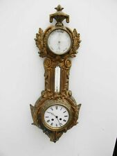 Cartel wall clock French early 19th century