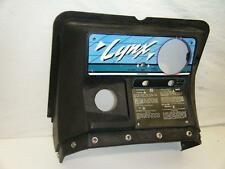 90 93 ARCTIC CAT 340 LYNX JAG PANTHER COUGAR CENTER GAS TANK COVER DASH CONSOLE