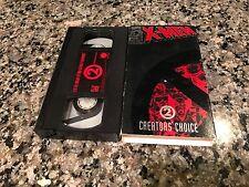 X-men Enter Magneto And Deadly Reunions 2 Rare VHS!