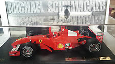 FERRARI F2001 M.SCHUMACHER 1/18 HOT WHEELS LIMITED EDITION.