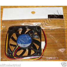 60mm X 10mm 12Volt Computer Case, Power Supply Cooling Fan - Part # FAN6010C12HH