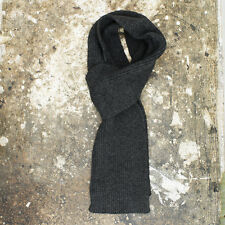 NEW D&G Dolce & Gabbana Dark Grey Scarf GENUINE RRP: £125 BNWT