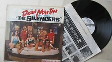 "DEAN MARTIN 1966 ""The Silencers"" Matt Helm ORG US MONO WHITE LABEL PROMO LP NEW?"