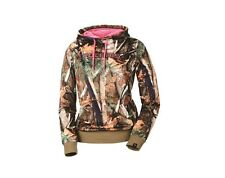 Polaris Camouflage/Pink Women's Pullover Hoodie - Size Small - Brand New