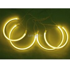 CCFL ANGEL EYES HALO RING Bulbs Lamps Kit for BMW E46 NON-Projector Sedan-Yellow