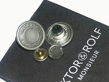 VIKTOR & ROLF ORIGINAL SET OF 2 JACKET OR JEANS REPLACEMENT BUTTONS NEW