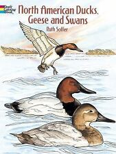 North American Ducks, Geese and Swans Dover Nature Coloring Book