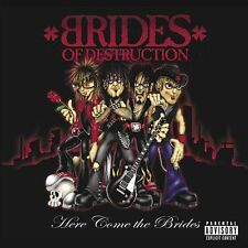BRIDES OF DESTRUCTION HERE COME THE BRIDES CD TRACII GUNS NIKKI SIXX