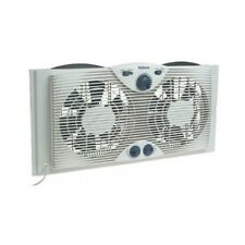 Mini Electric Twin Ductless Window Fan Air Conditioner Thermostat Split Unit AC