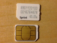 Sprint Nano Sim Card for iPhone 6S plus 6 5S 5C 5, Samsung Galaxy S6,