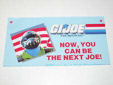 VINTAGE GI JOE 1988 LEAFLET ORDER FORM 'SECRET ID' / STEEL BRIGADE - HASBRO
