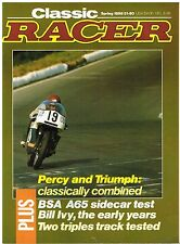 Classic Racer Spring 1988 A65 outfit Trident Percy Tait Bill Ivy Rob North CZ