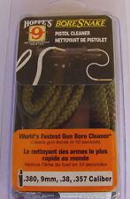 Hoppe's Boresnake 357, 9mm .380,  38,. 357  Hoppes Bore Snake Cleaner