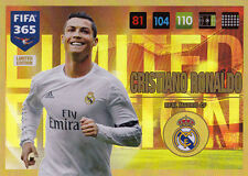 Adrenalyn XL FIFA 365 2017 limited Edition Christiano Ronaldo Panini