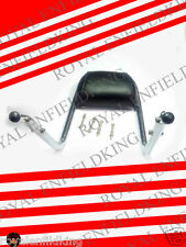 BRAND NEW ROYAL ENFIELD CHROME PLATED PADDED BACK REST THUNDERBIRD